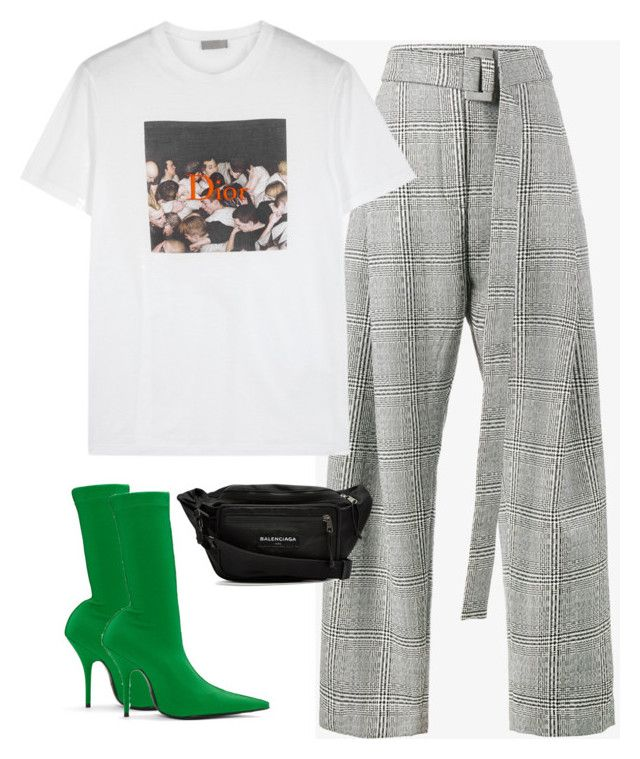 """Untitled #675"" by lady99inred ❤ liked on Polyvore featuring E L L E R Y, Christian Dior and Balenciaga"
