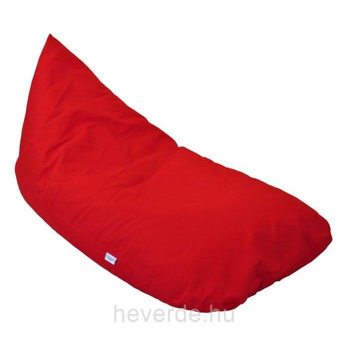 Vigyázat, ez a piros babzsák nagyon szeretni való! Élénk színével a gyerekek szívébe lopja be magát először, aztán már a szülők sem tudnak neki ellenállni!