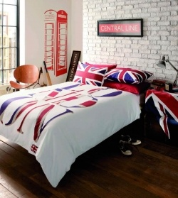 17 images about london themed bedroom on pinterest for Union jack bedroom ideas