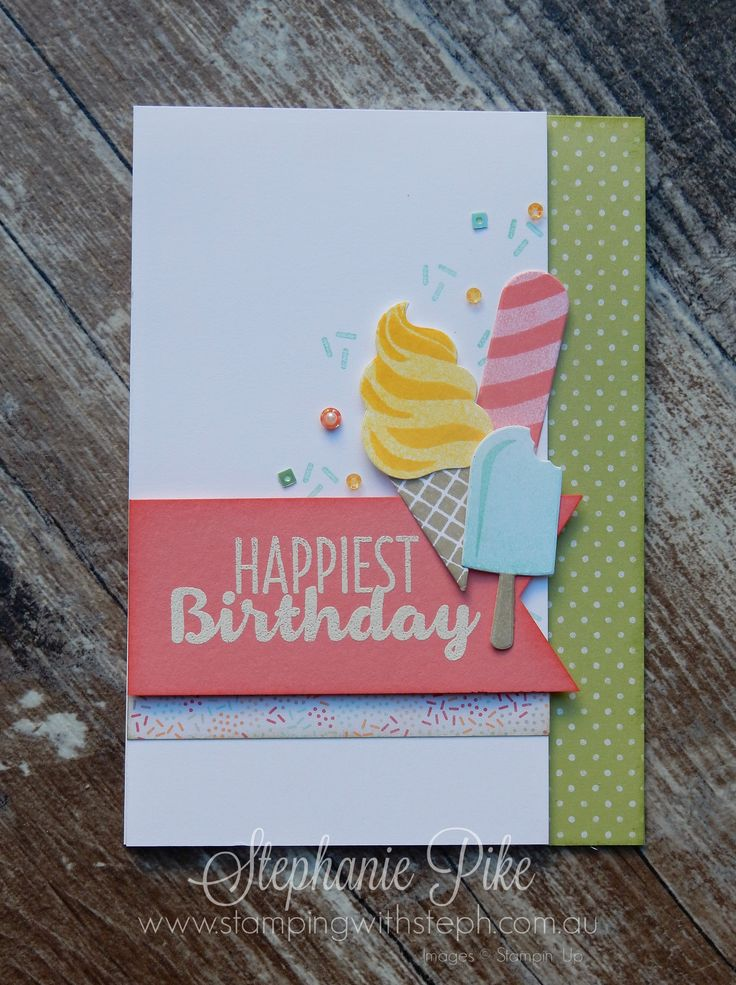 Cool Treats - Sneak Peak - Stamping with Steph