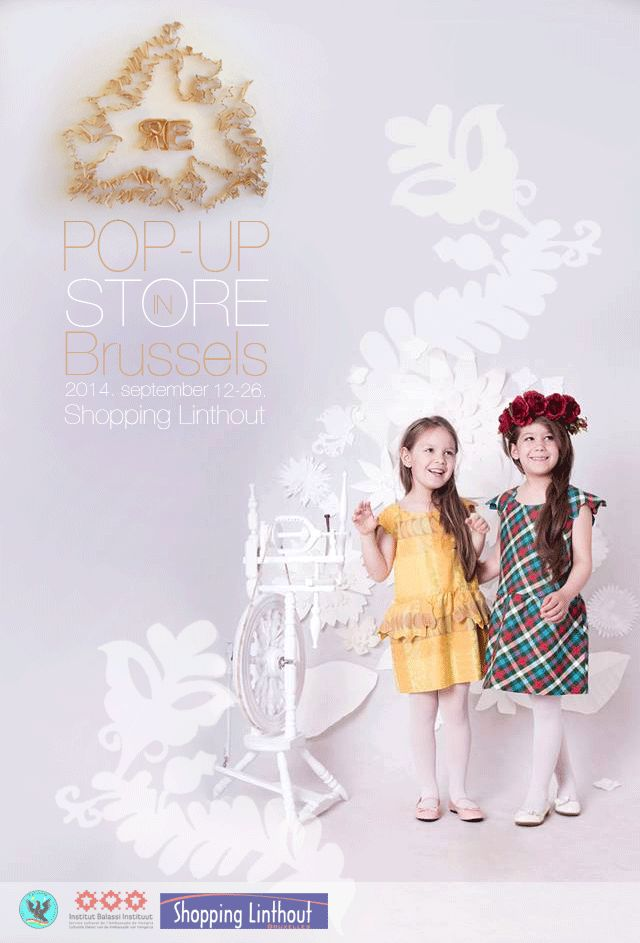 www.facebook.com/REmesedivat  #popupstore #brusseles #remese #kidsfashion #littlefashion #hungarian #design #poster