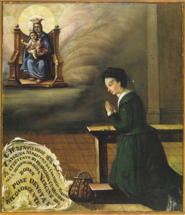 Archivio Iconografico del verbano Cusio Ossola La Madonna dei Miracoli Ornavasso Boden Anno 1874