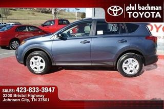 2013 Toyota RAV4 4WD 4dr LE - Toyota dealer serving Johnson City Tennessee – New and Used Toyota dealership serving Kingsport Bloomingdale Elizabethton Tennessee
