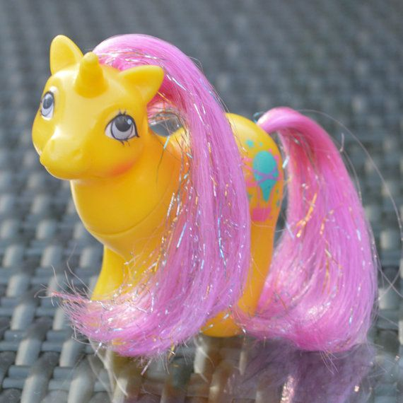 ATCTTeam - Vintage My Little Pony 'Baby Explorer' Starlight Sparkle by TeaJay, Vintage  Toy  Animal  MLP  my little pony  baby  pink  1984  teajay  G1  Pearl  Sparkle  Explorer  Starlight UK Exclusive  UK