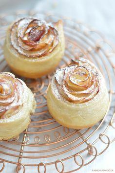 Apfelrosen – Rosen mit Zimt und Zucker   fabulous