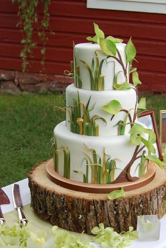 186 best The Fondant Forest images on Pinterest Cake wedding