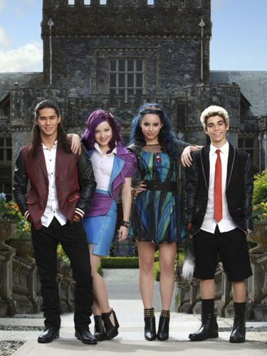 These Pics from the Disney Channel Original Movie 'The Descendants' Will Blow Your Mind| I actually really loved this movie
