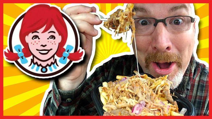 Wendy's Pulled Pork Poutine Plus 3 Different Sauce Taste Test