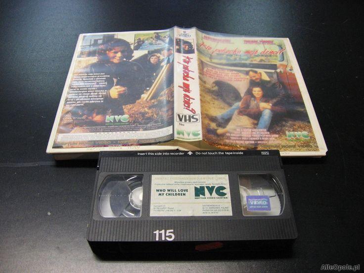 KTO POKOCHA MOJE DZIECI - kaseta VHS - 0936 Opole - AlleOpole.pl (Opole)