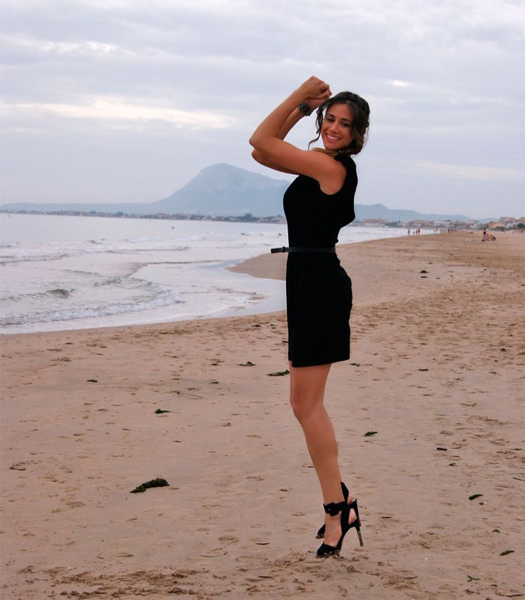 Little black dress con ZARA