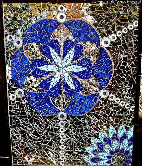 Custom Mosaic Mandala on Etsy, $1,300.00 AUD