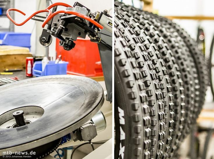 Halbautomatik: Entspannter Reifen-Aufziehen.