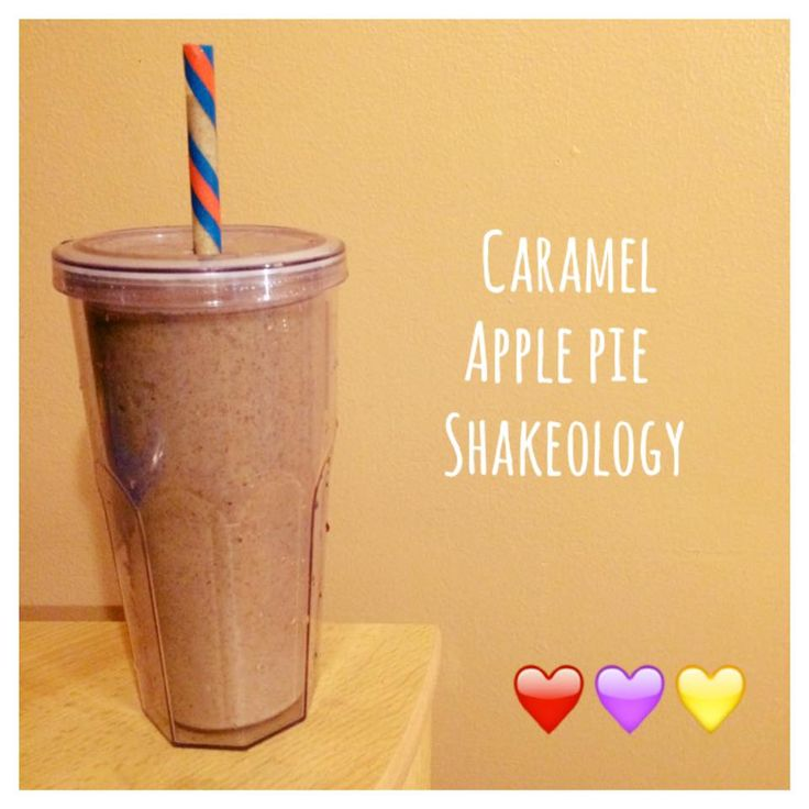 ... Food Diary 21 Day Fix Approved Recipe = Caramel Apple Pie Shakeology
