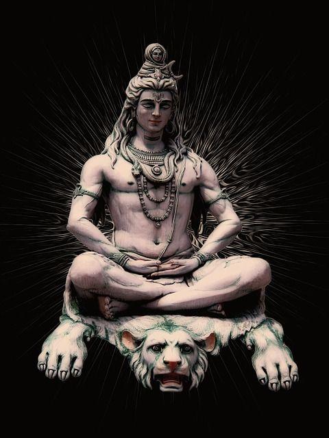 ヒンドゥー教の神シヴァ, シヴァ, インド, リシーケシ, ガンジス川, 像, 神ヒンドゥー教, ヒンドゥー教