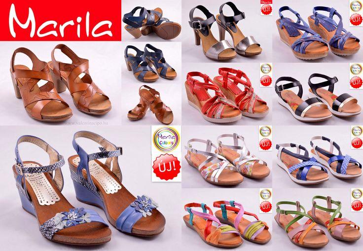 Marila Spanyol női szandálok, a nyár vidám színeiben pompáznak! Valentina Cipőboltokban és Webáruházunkban kényelmesen vásárolhat a Marila szandálokból :)  http://www.valentinacipo.hu/kereso/marka/marila-289  #Marila #Marila_szandál #Valentina_cipoboltok