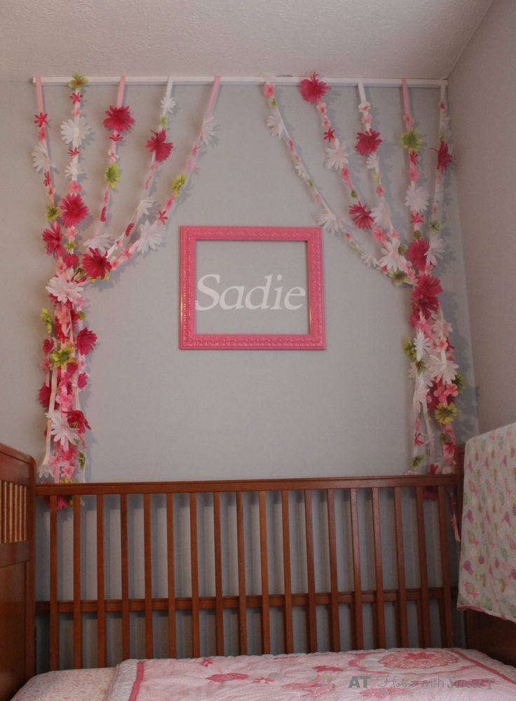 Flowery Streamers For Your Toddler Girl S Room Diy Home