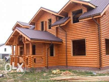Сборка сруба и бруса. Каркасные дома и дачи Киев - изображение 1