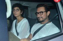 PICS: Aamir Khan enjoys a movie outing with Kiran Rao and Dangal team in Lightbox