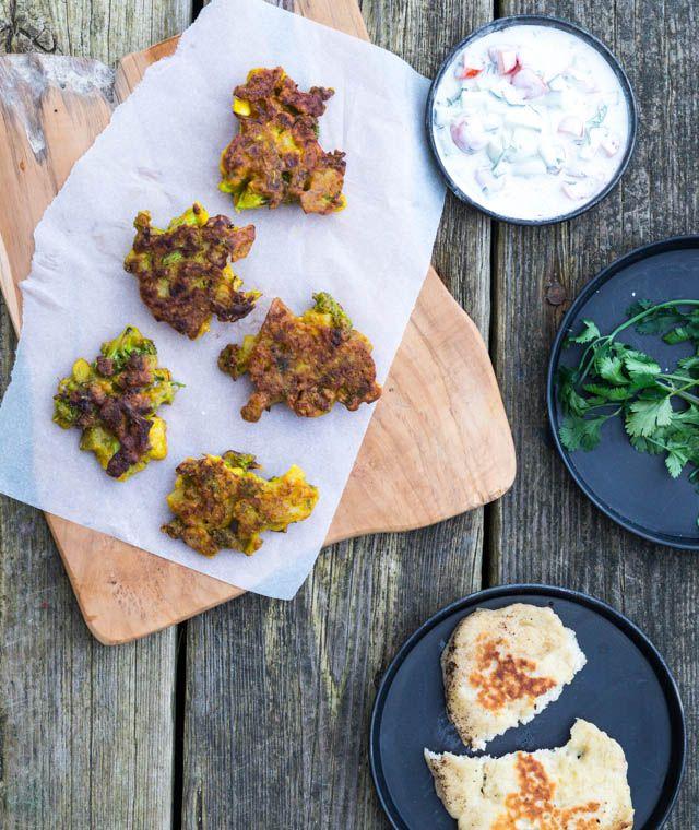 Pakora – indisk snack med grønt og kikærtemel