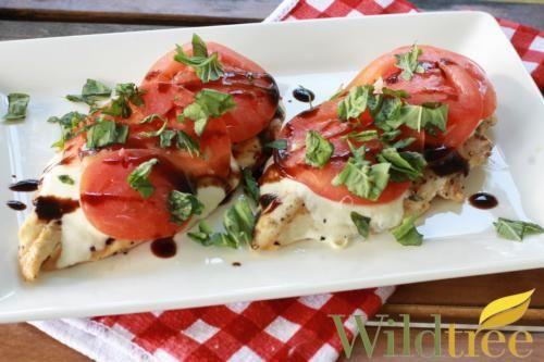 Wildtree's Grilled Caprese Chicken Recipe