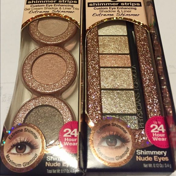 2 Brand new Physicians Formula shimmer shadows! Two brand new shadow sets for 1 price! *nude eyes 6409 Physicians formula Makeup Eyeshadow