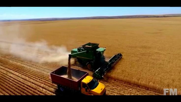 Wheat Harvest in Washington 2016. !FM!.