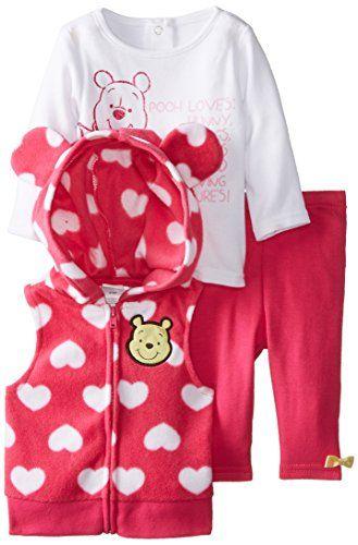 Disney Baby Girls' Microfleece 3 Piece Vest Set, Pink/White, 3 Months Disney http://www.amazon.com/dp/B00KREAWW0/ref=cm_sw_r_pi_dp_ptcowb0EY6SZJ