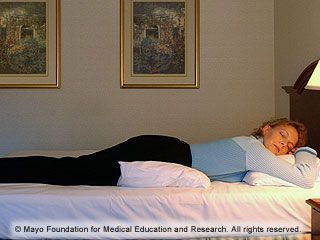 slides of sleeping positions that reduce back pain #ReducingBackPainTips