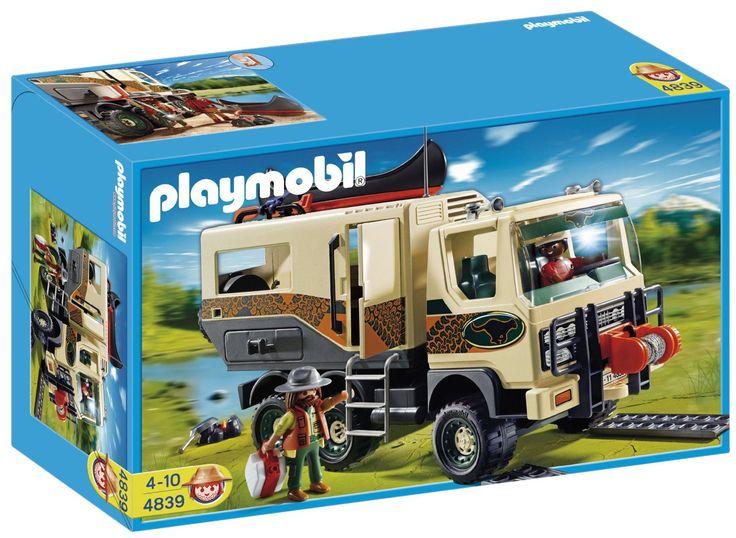 Playmobil 4839 adventure truck toys games gabriel 39 s wish list pinterest - Playmobil camion ...