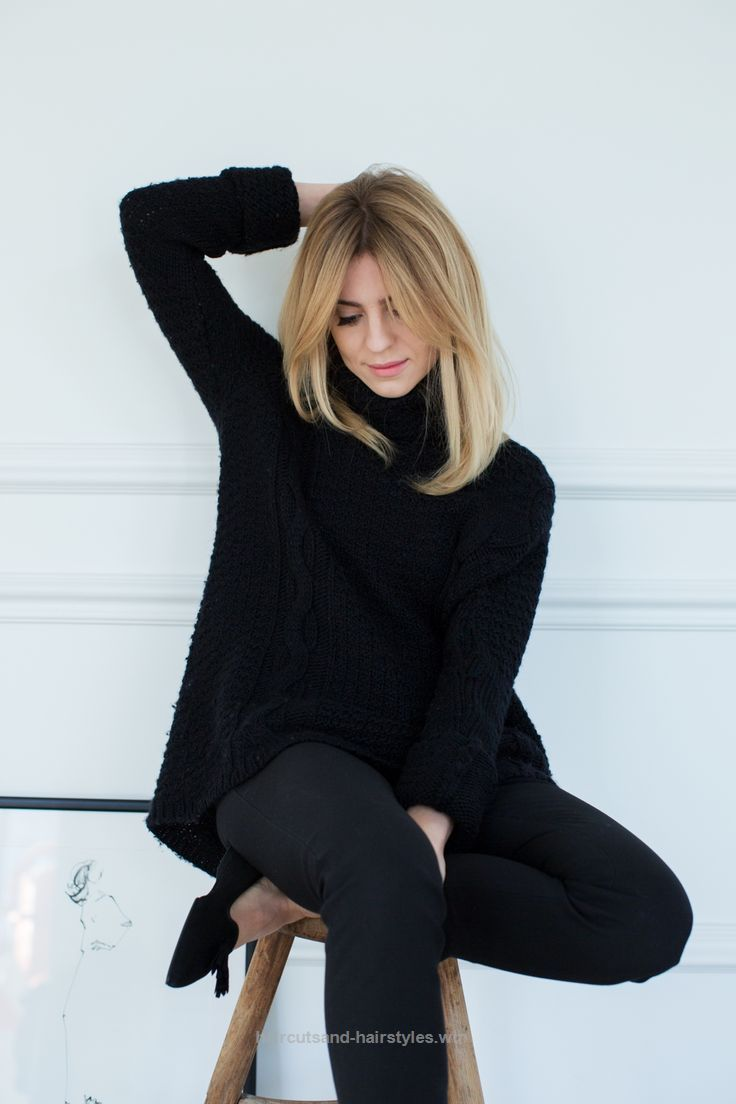 Wonderful All black Workoutfit für den Winter Der Post All black Workoutfit für