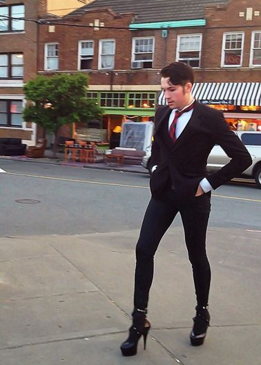 Image Result For Femme Men Androgyny Men In Heels