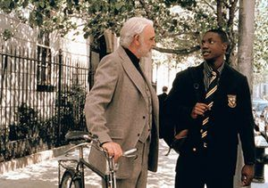 Sean Connery and Rob Brown in Finding Forrester: 'I suppose there could be undercurrents that my character is closeted,' Connery has said.