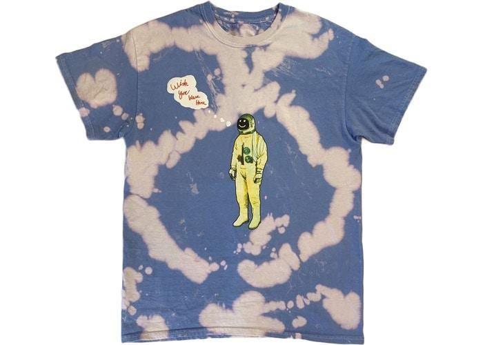 Astronaut Dye T Shirt Astroworld Official Travis Scott Astroworld Travis Scott Urban Clothing Men