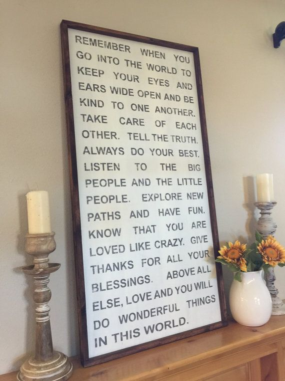 Extra Large 24x48  Framed Sign  All hand painted and by kspeddler