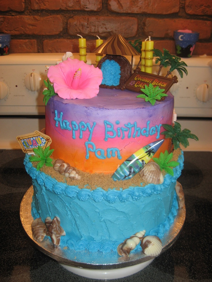 17 Best Images About Cakes On Pinterest Luau Decorations