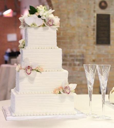 62 Ideas Wedding Cakes Buttercream Square Design