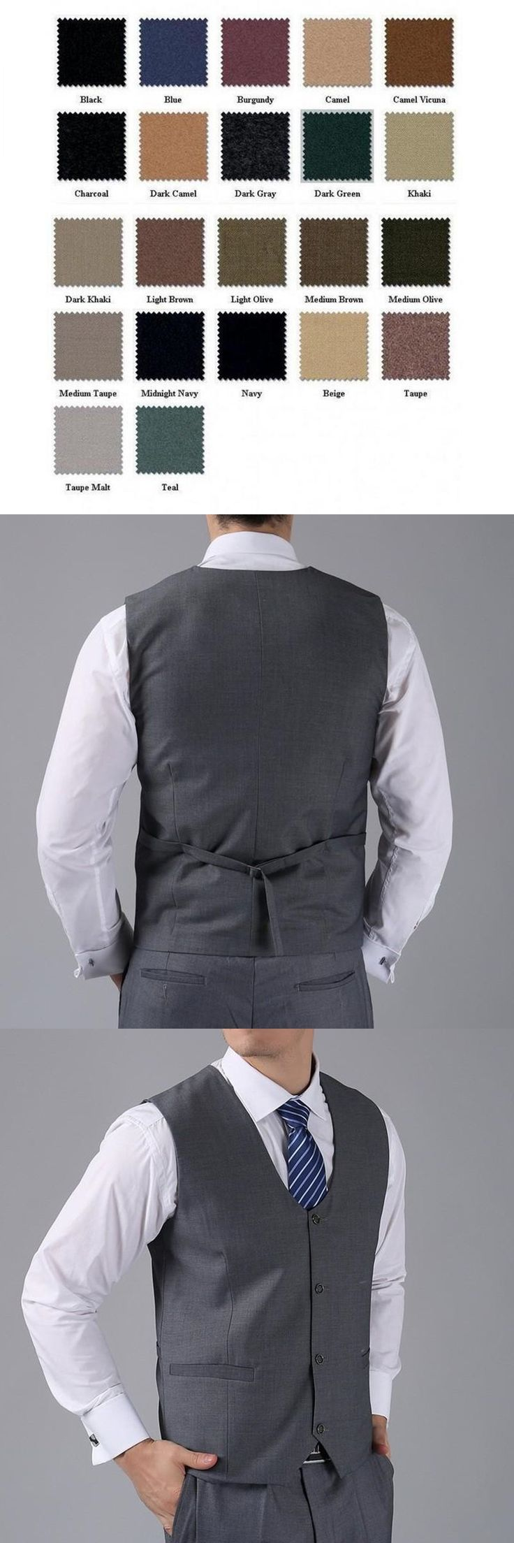 New Arrival Groom Vests Gray GroomsmensBest Man Vest Custom Made Size and Color Four Buttons Wedding/Prom/Dinner Waistcoat