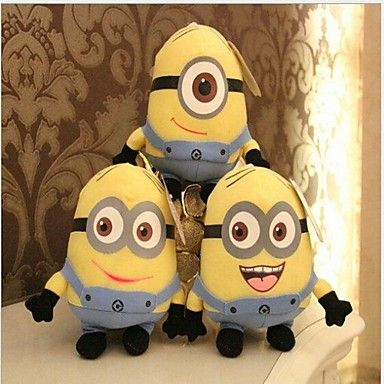 Despicable Me™ All 3 Minions Plush Stuffed Toys. Only at www.pandadeals.co.uk