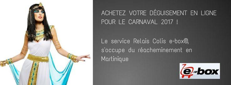 Déguisement Cléopâtre pour le Carnaval | Relais Colis e-box® Martinique