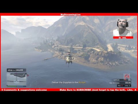Here's my latest video! Playing GTA 5 online Mr MSL & jake-gamezz the Gunrunners ........live https://youtube.com/watch?v=LqUQg8h0tGo