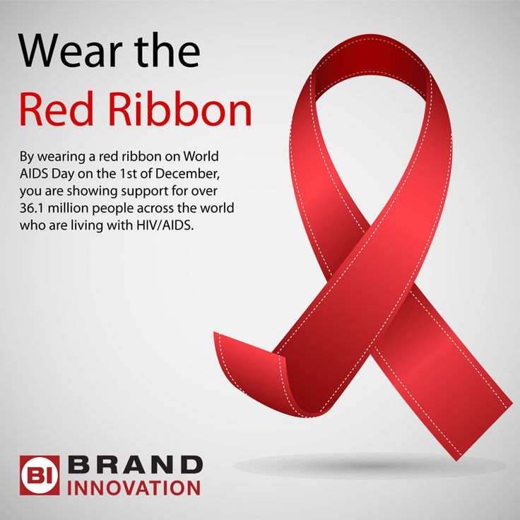 Why Wear A Red Ribbon For AIDS Day? AIDS Ribbons South Africa