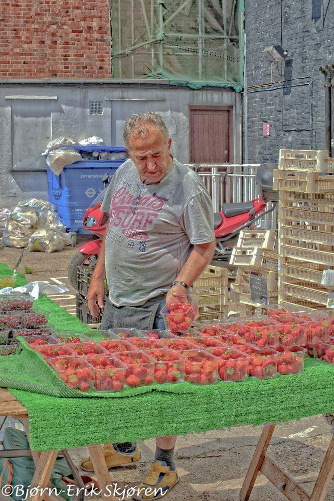 Farmers marked by Bjørn-Erik Skjøren
