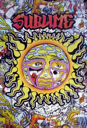 6554-m Sublime American Ska Punk Band From Long Beach Wal...