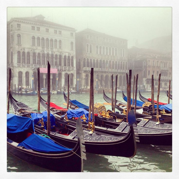 A misty day in Venice just makes it seem lovelier and more mysterious.