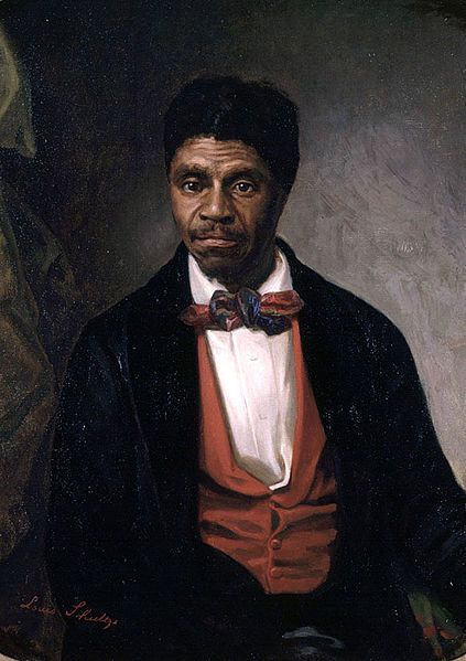 "DRED SCOTT, an Enslaved person, taken by his Master from a Slave State, into a ""Free Territory"", filed a suite claiming that because he had lived on 'free soil' he was entitled to his Freedom. Though the Supreme Court ruled against Scott citing that people of African descent and their descendants were not protected by the Constitution and could never be citizens and thus could not sue in federal court; the case inflamed the national debate over Slavery in the years leading up to the Civil…"