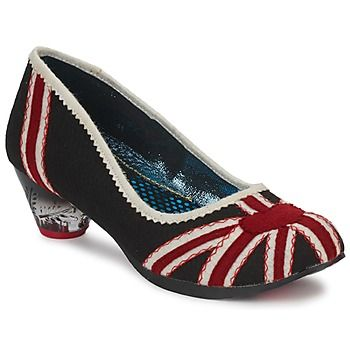 Court-shoes Irregular Choice POSEY BLACK / RED / White