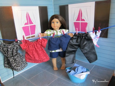 American girl craft blog - lots of cool stuff you can make for your AG!!