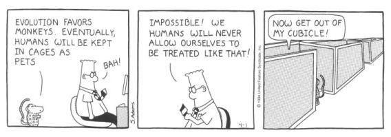 Dilbert on Cubicles #Humor #RelationshipCapital @ronmci @davidhain