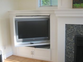 Tv Cabinet Bookshelf Next To Fireplace Not Over Reversica House Living Room With Home Bookcase