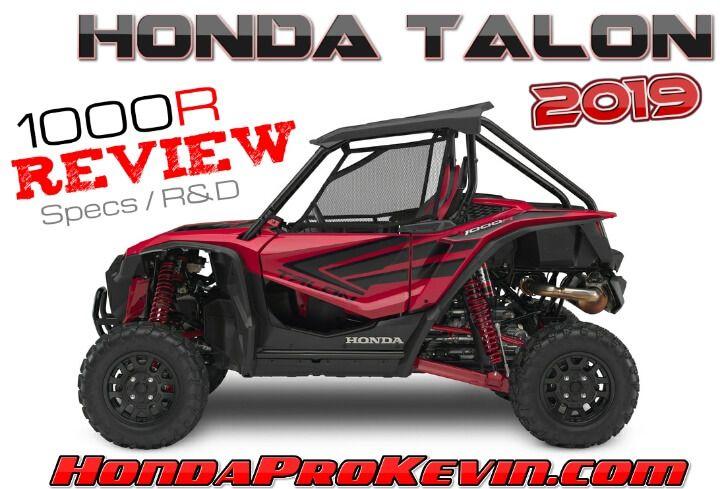 2019 Honda Talon 1000r Review Specs Price Horsepower Suspension More Sport Sxs Utv Honda Reviews Car Dealership